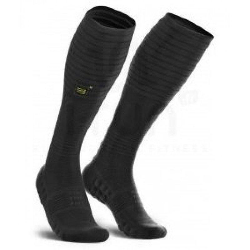 chaussettes de trail compressport full socks oxygen black edition 2019