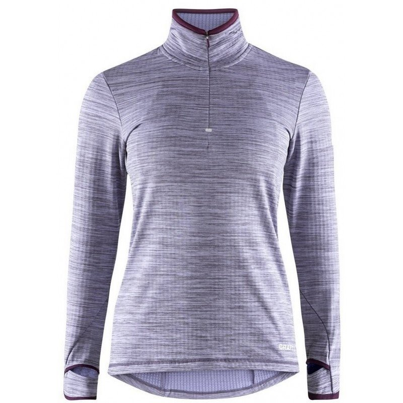maillot de running craft polo 1/2 zip 190644 73320