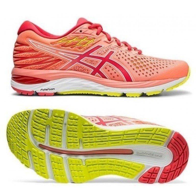 chaussure de running pour femme asics gel cumulus 21 1012a60112 700