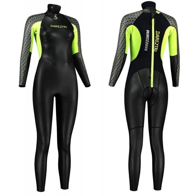 combinaison de triathlon dare2tri swim femme