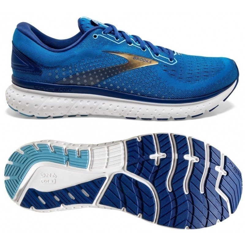 chaussure de running brooks glycerin 16 pour femme 1202781B586 wild aster / fig / orange