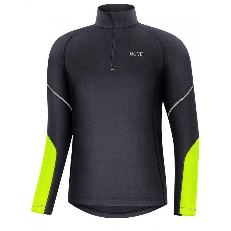 gore mid long sleeve zip shirt 100530 9908