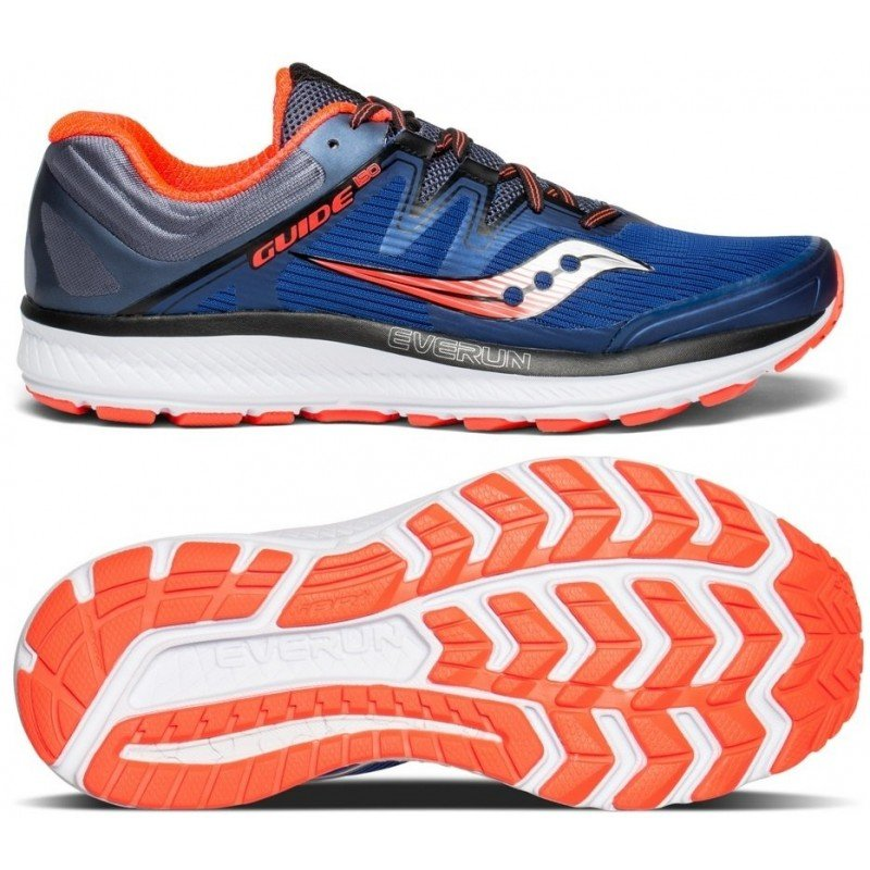 chaussures de running pour hommes saucony guide iso s20415-35