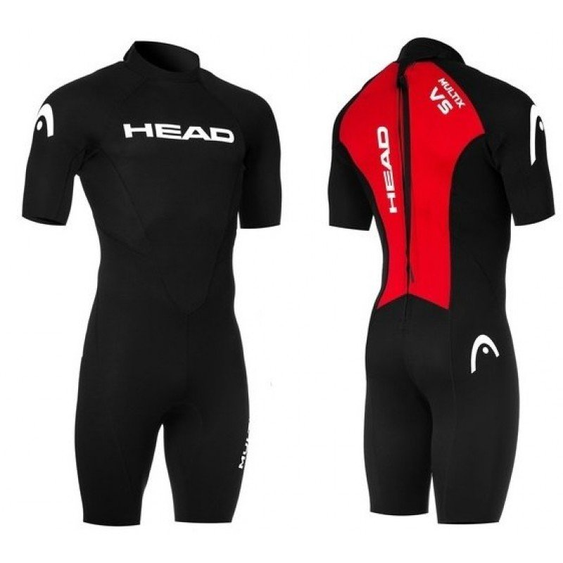 combinaison de triathlon pour hommes head multix Vs man shorty
