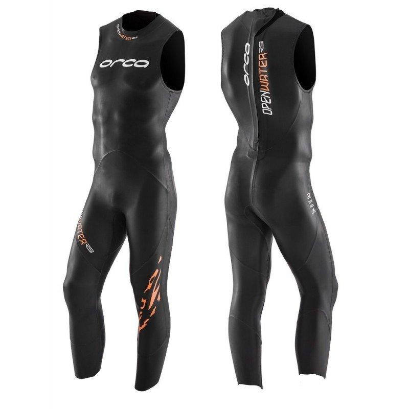 combinaison de triathlon en neoprene pour homme orca RS1 sans manches-JVNK