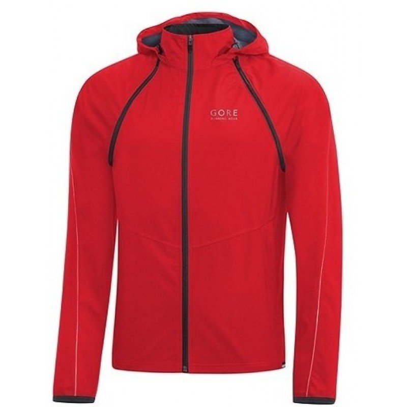 GORE VESTE ESSENTIAL ZIP OFF ROUGE