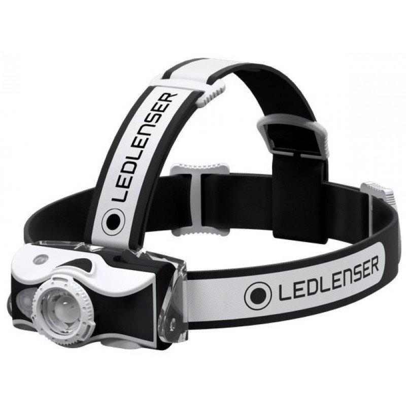 lampe frontale led lenser mh7 noir