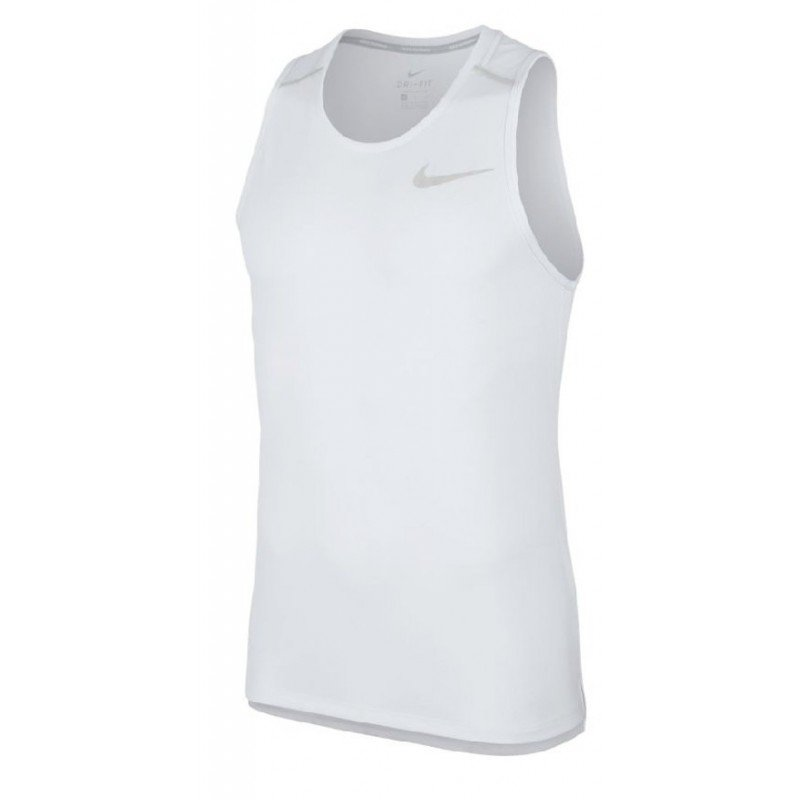 débardeur de running pour hommes nike dry miller aj7562-100