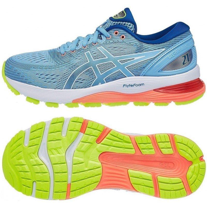 chausure de running pour femmes asics gel nimbus 21 sp 1012a156 402