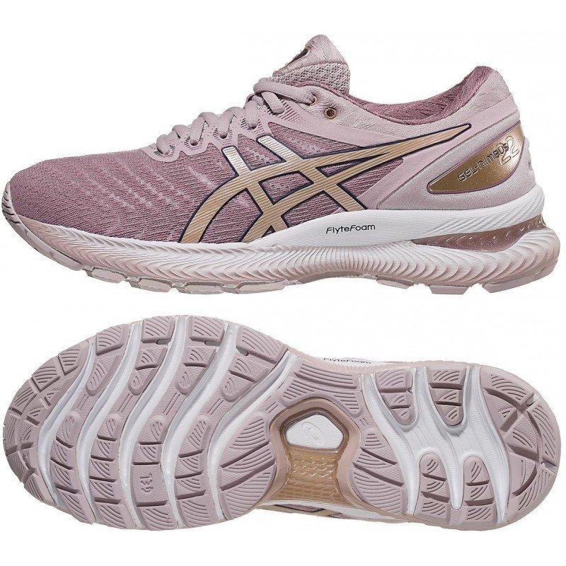 Chaussure de running pour femmes asics gel nimbus 22 1012a587-702