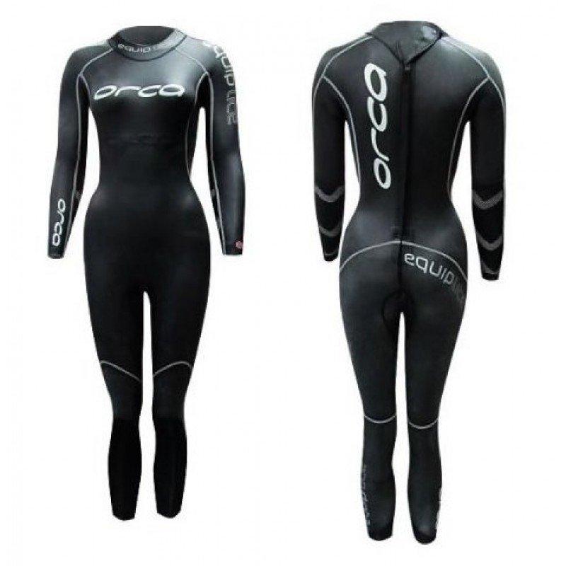 combinaison de triathlon en neoprene pour femme orca equip lite