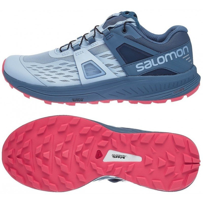 the latest 10ba3 636e2 chaussure de trail running pour femmes salomon ultra pro 404948 cashmere  blue  bluestone dubarry