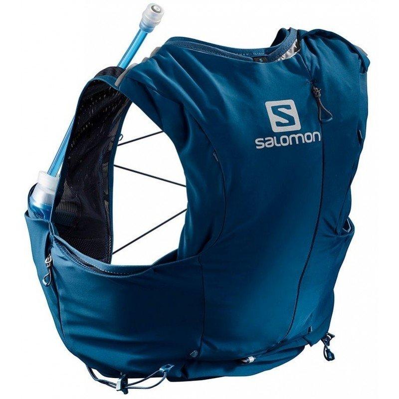 sac de trail running salomon adv skin 8 set w lc104860 poseidon