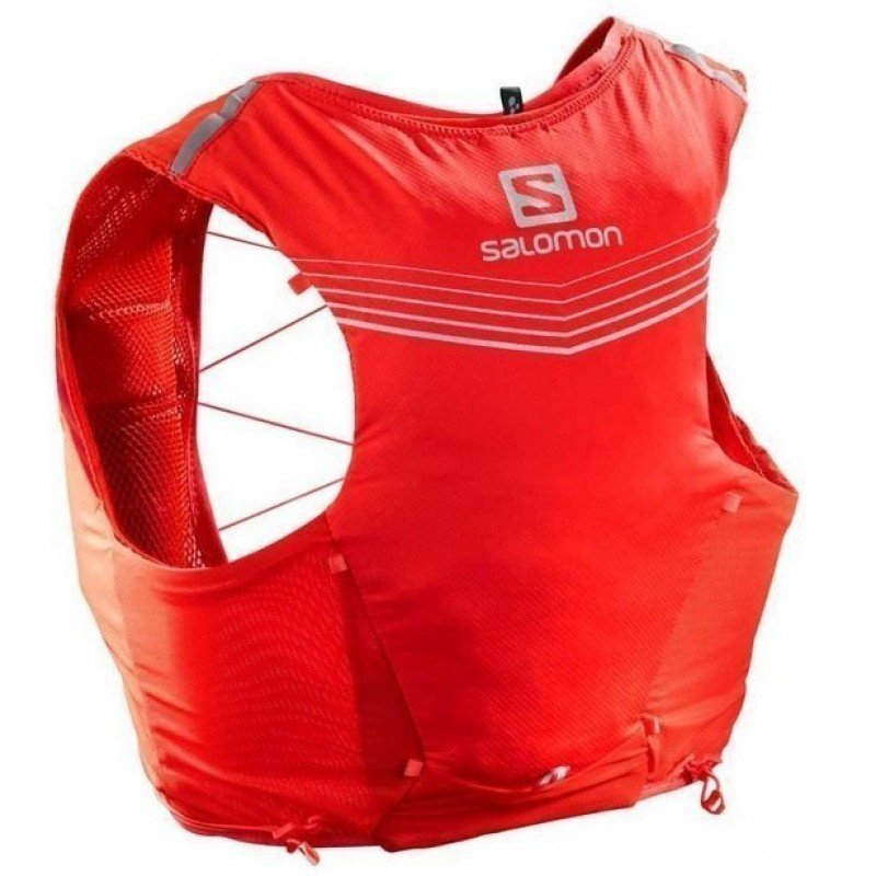 sac de trail running salomon adv skin 5 set fiery red lc108940
