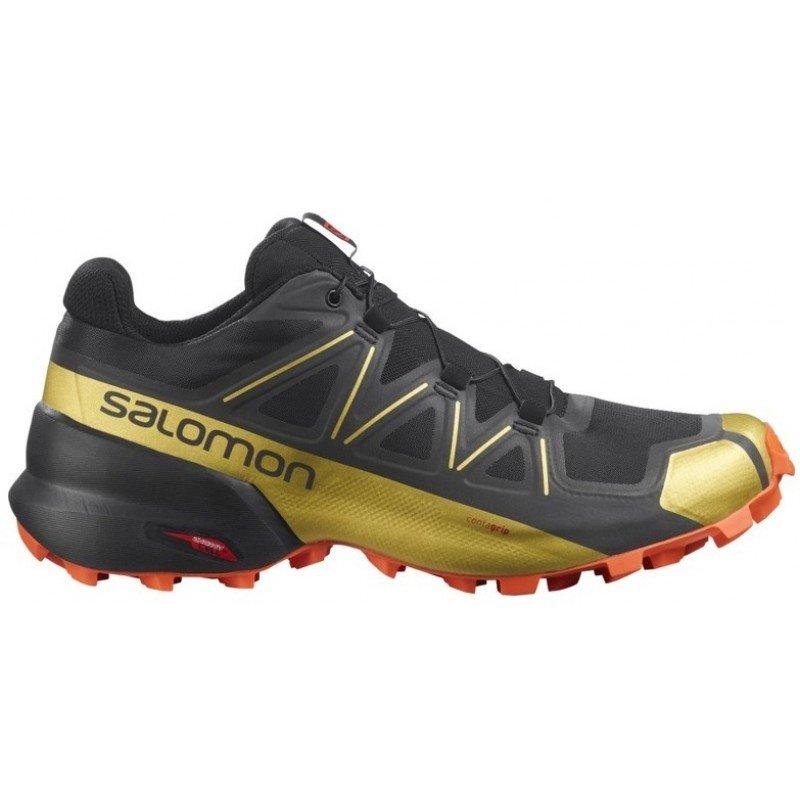 salomon speedcross 5 golden trail series 411561