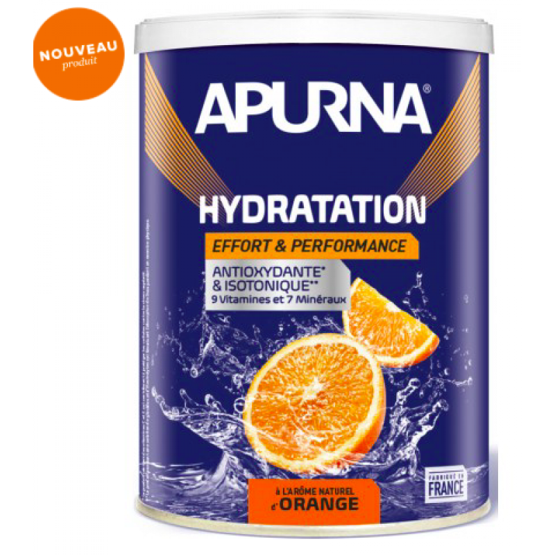 Apurna Boisson Hydratation Orange