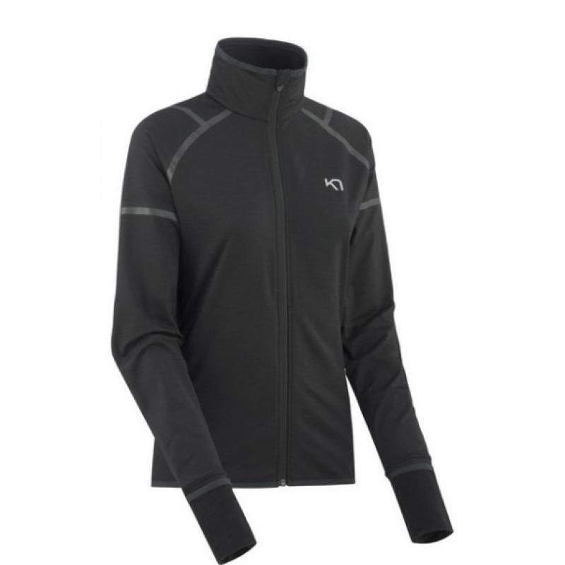 veste de running pour femmes kari traa marika jacket 621972 black en promo