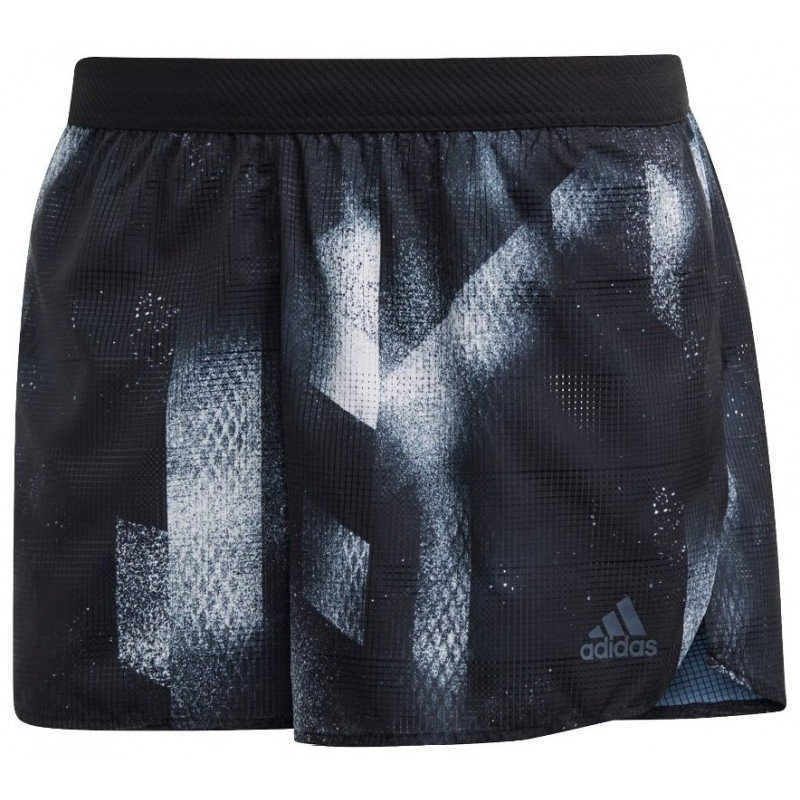 short de running pour hommes adidas short sub 2 dp3966 black / white