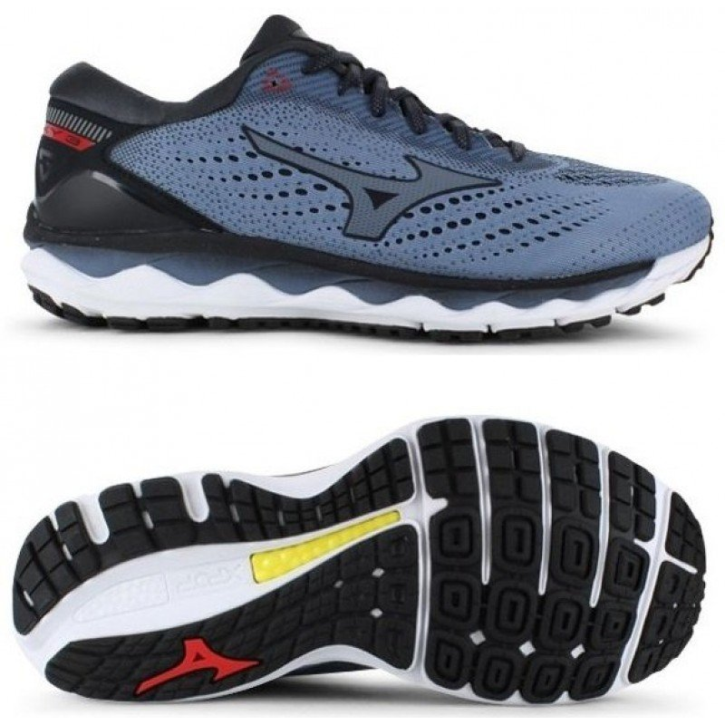 chaussures de running pour hommes mizuno wave sky 3 j1gc190235