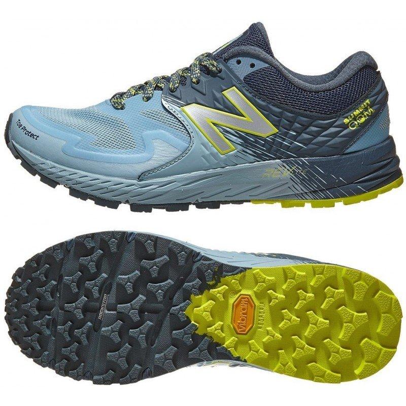 Chaussures de trail running pour femmes new balance summit qom wtskomlb blue