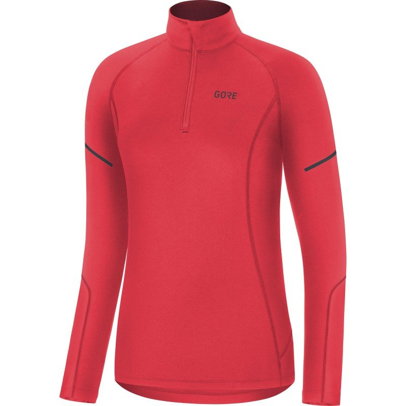 W Gore Mid Long Sleeve Zip Shirt 100534-AK00