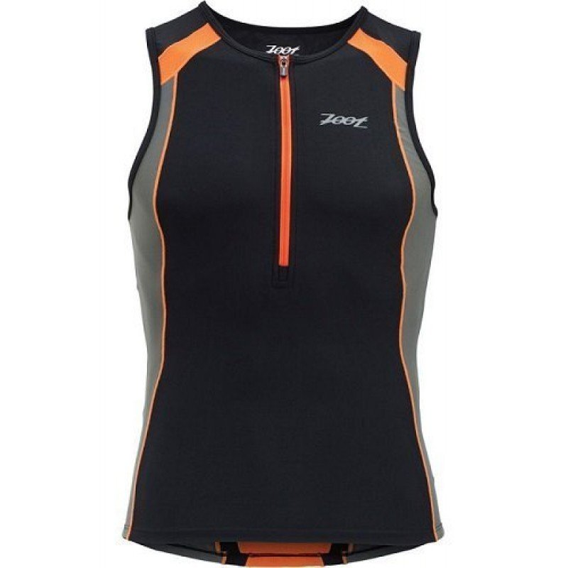 ZOOT PERFORMANCE TRI TOP NOIR/ORANGE