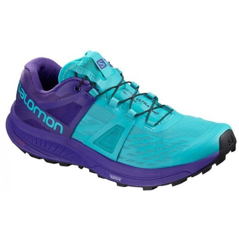 chaussure de trail running pour femmes salomon ultra pro 404948 blue bird / deep blue