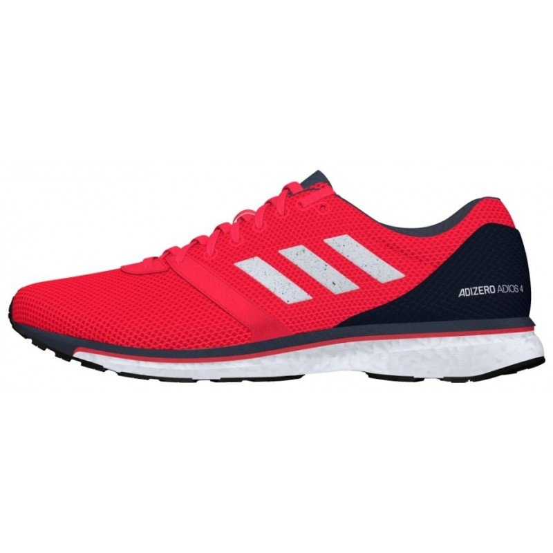 chaussures de running pour hommes adidas adios boost 4 b37308 actpnk / ftwwht / carbon