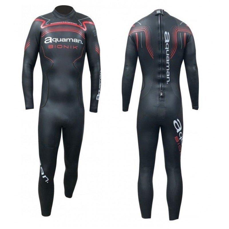 Combinaison de triathlon néoprène Aquaman Bionik Homme 2020