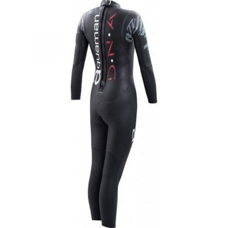 combinaison de triathlon néoprène pour femmes aquaman dna