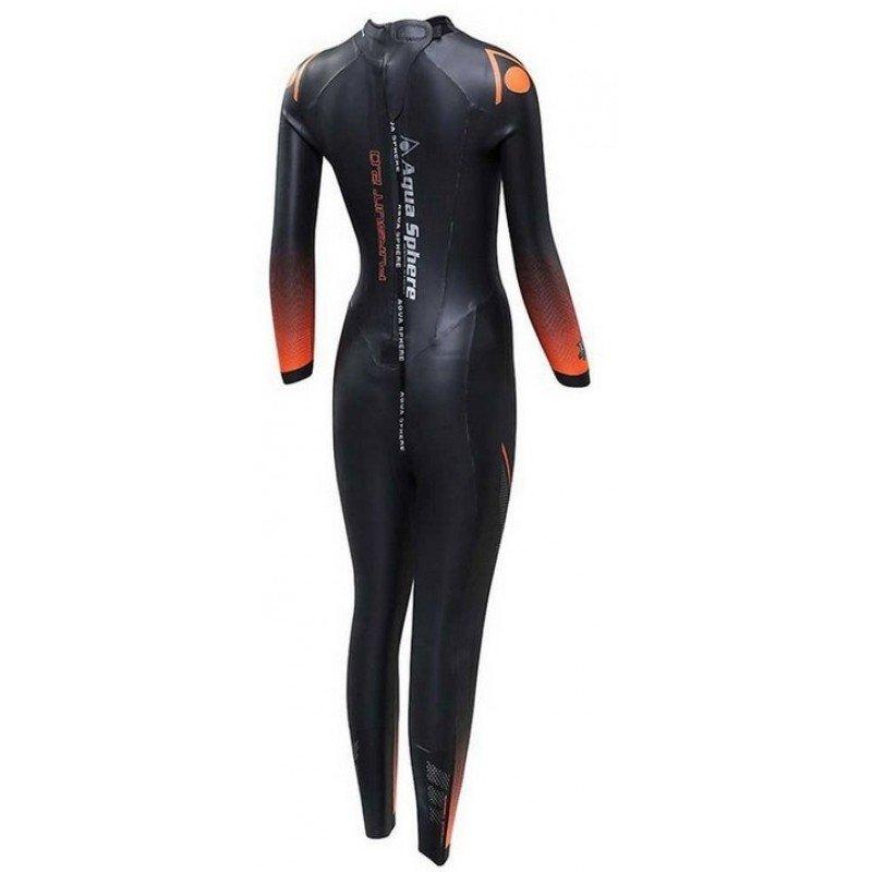 combinaison de triathlon en neoprene pour femme aquasphere pursuit 2.0