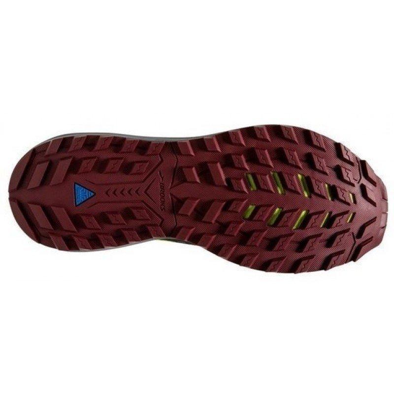 Chaussure de trail running Brooks Cascadia 14 hommes 1103101d031 black red nightlife