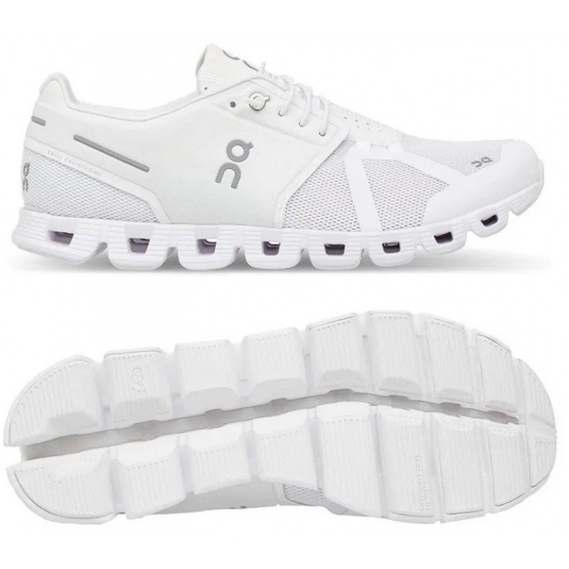 chaussure de running on running cloud blanche 19.0004