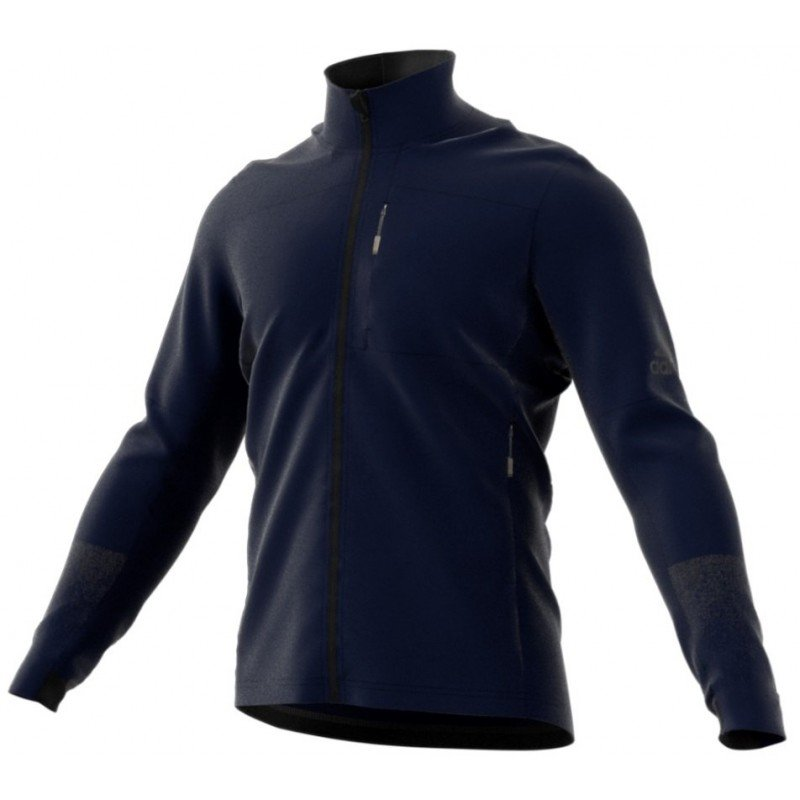 veste de running adidas jacket terrex bleu cy9212
