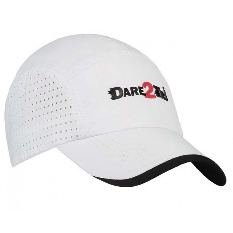 DARE2TRI CASQUETTE TRIATHLON WHITE