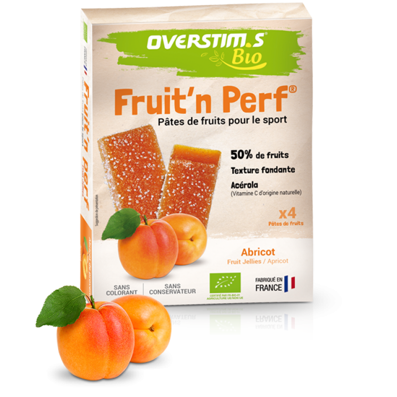 OVERSTIM'S FRUIT'N PERF BIO ABRICOT