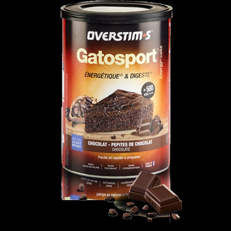 OVERSTIM'S GATOSPORT CHOCOLAT PÉPITES DE CHOCOLAT
