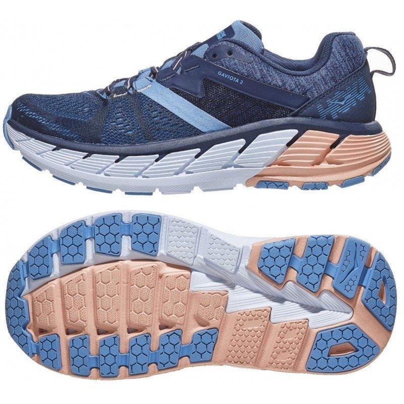 chaussures de running pour femmes hoka gaviota 2 Mood Indigo / Dusty Pink