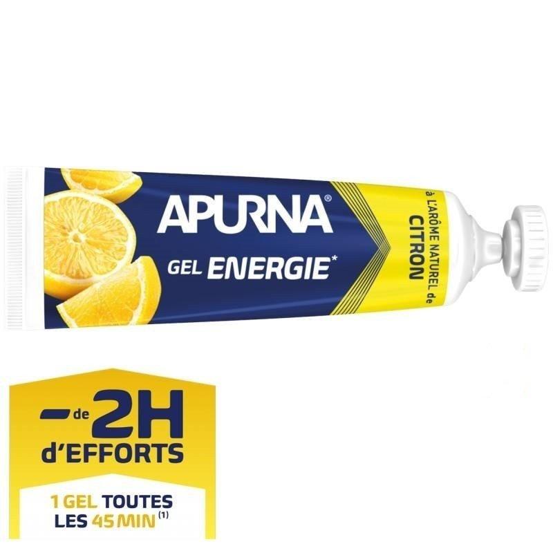 Apurna Gel Énergie Liquide Citron