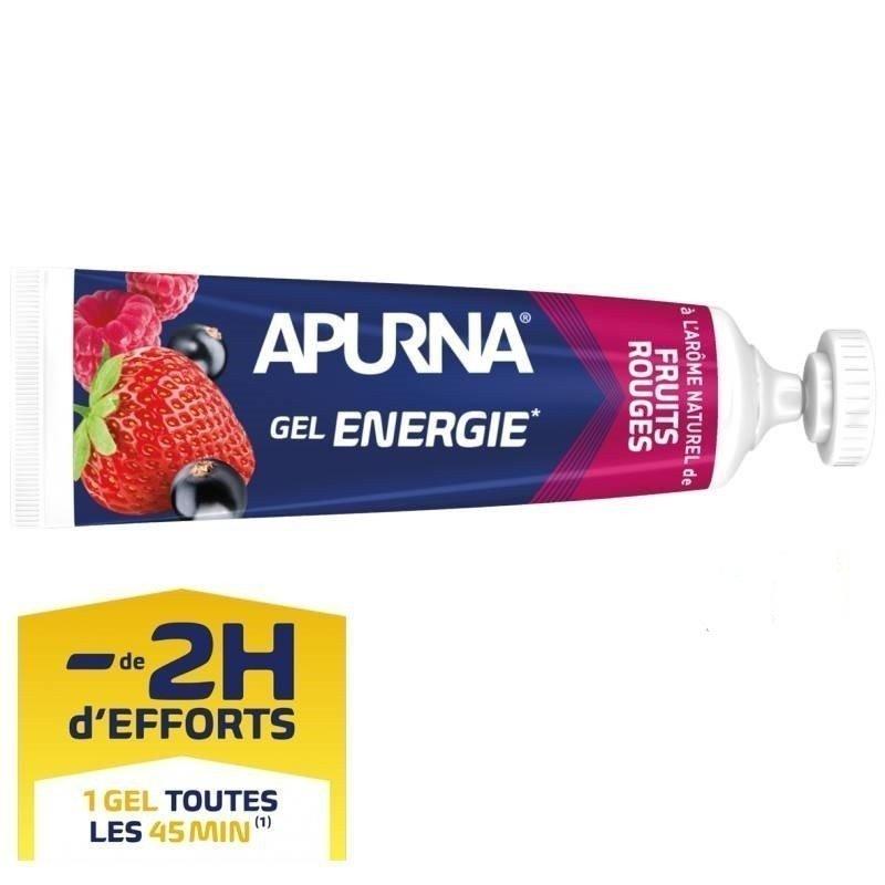 Apurna Gel Énergie Liquide Fruits Rouges