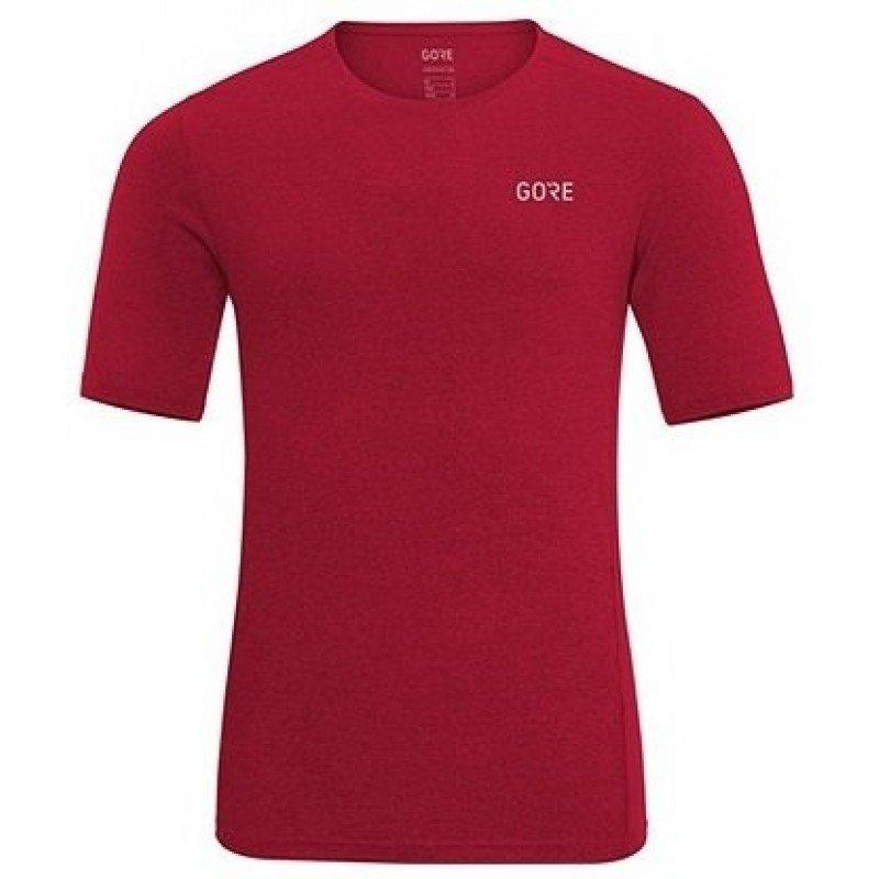 GORE MELANGE SHIRT RED