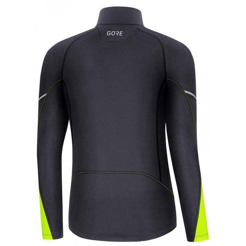 gore mid long sleeve zip shirt 100530-9908