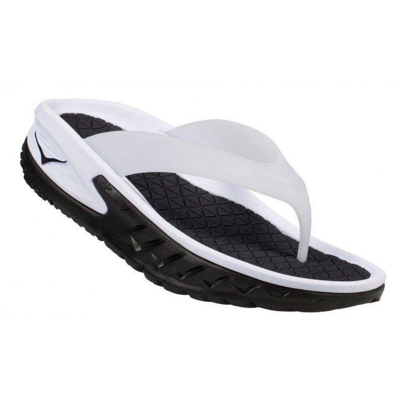 chaussure de recuperation pour homme hoka ora flip