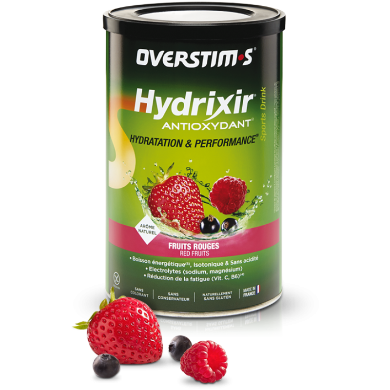OVERSTIM'S HYDRIXIR ANTIOXYDANT FRUITS ROUGES