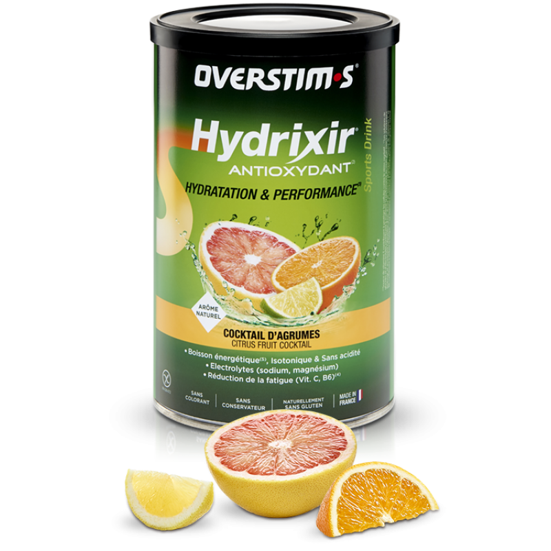 OVERSTIM'S HYDRIXIR ANTIOXYDANT COCKTAIL D'AGRUMES