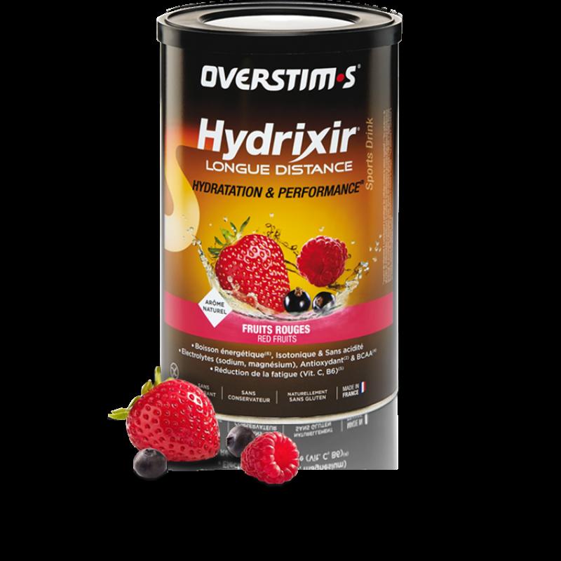 OVERSTIM'S HYDRIXIR LONGUES DISTANCES FRUITS ROUGES