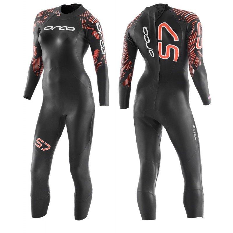 Nouvelle combinaison de triathlon néoprène Orca S7 Femme 2020