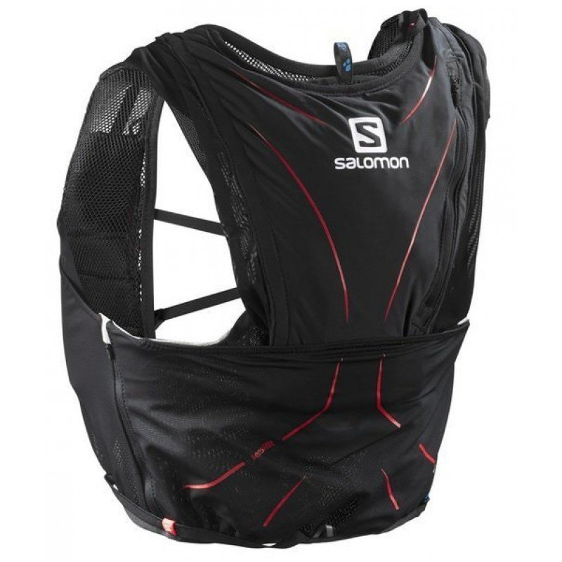 SALOMON Bag ADV SKIN 12 SET Black/Matador L39264000