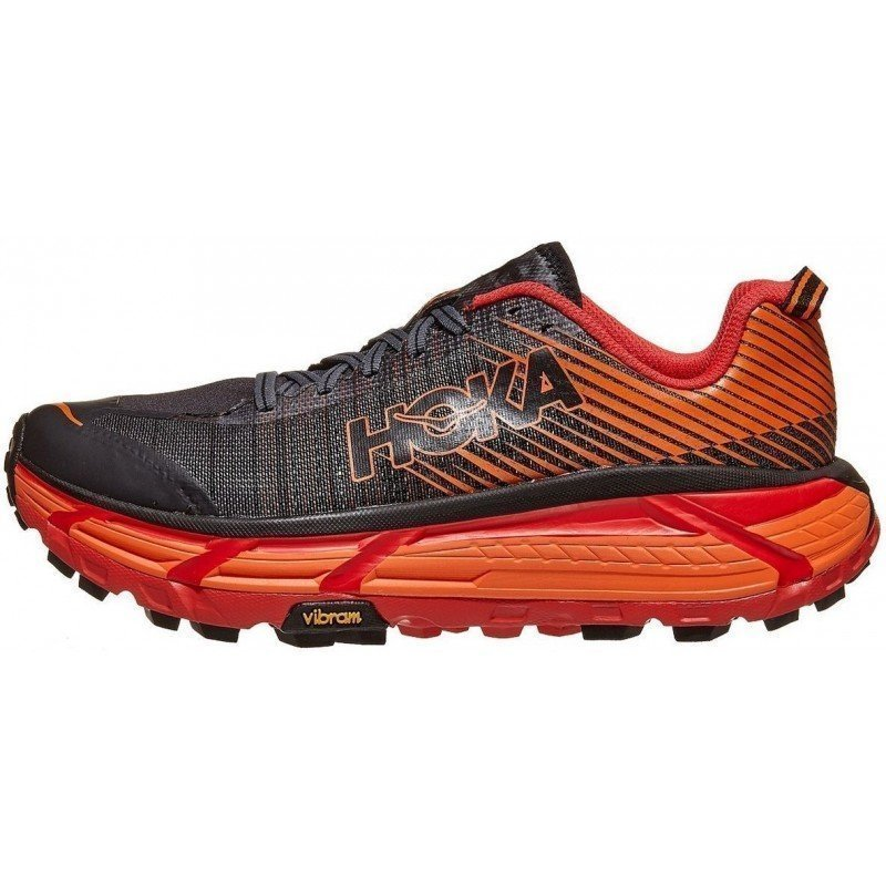 chaussure de trail running hoka evo mafate 1105591BPRD BLACK / RED