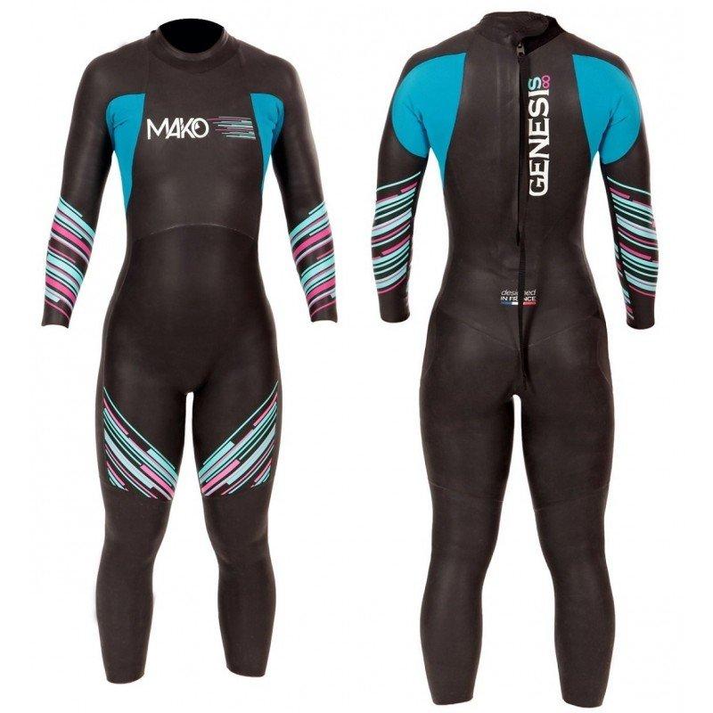 Combinaison de triathlon Mako Genesis Femme 2.0